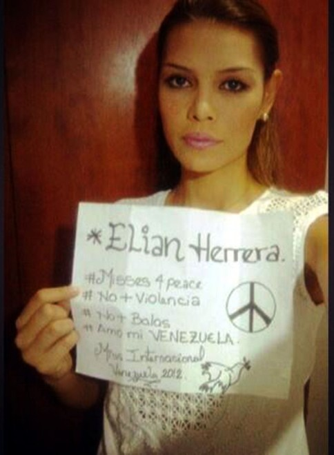 Misses4peace le Miss del Venezuela protestano contro le violenze3