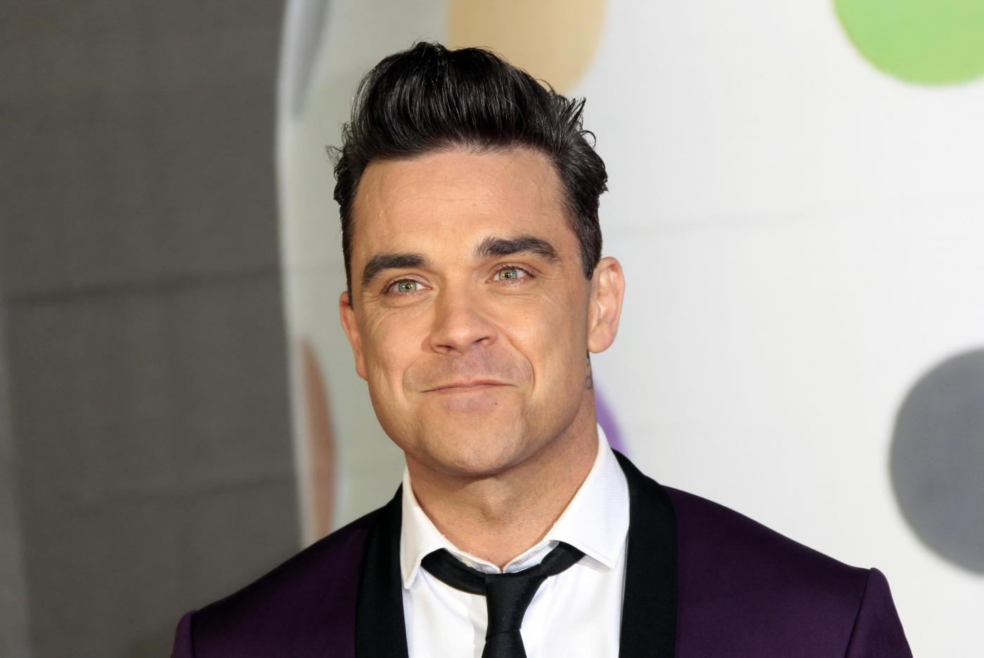Robbie Williams lancia a Londra nuovo tour europeo