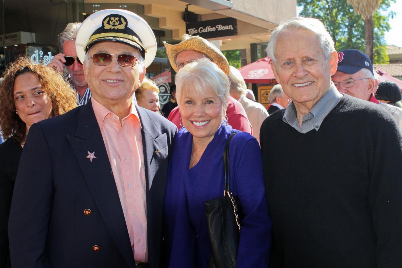 Stella sulla Walk of Fame per lo staff di Love Boat08