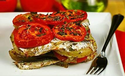 Ricette di pesce: tortino di alici