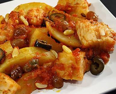Ricette Di Pesce Baccalà Alla Napoletana Con Pinoli E Pomodoro