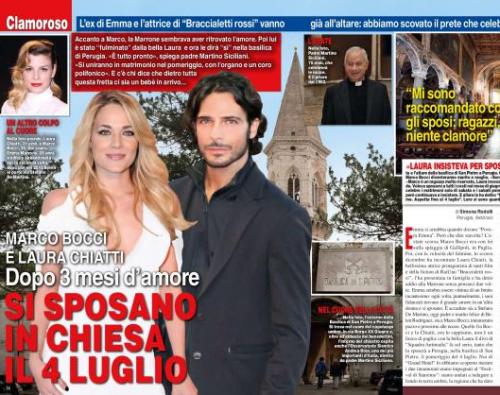 Marco Bocci e Laura Chiatti, matrimonio: ecco la data delle nozze