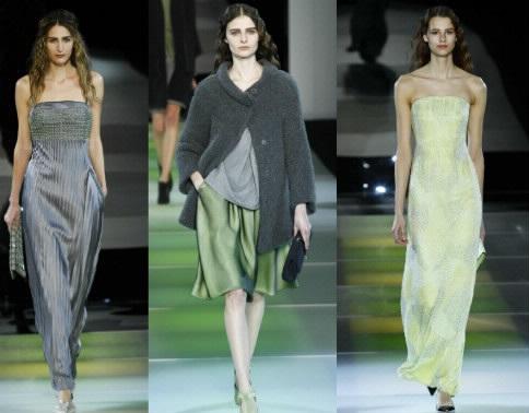 Giorgio Armani, il nuovo grigio meraviglia. E si scaglia VS Anna Wintour