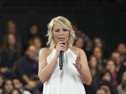 Maria De Filippi concorrente al Rischiatutto di Fabio Fazio