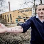 Norvegia, si tatua lo scontrino del McDonald's sul braccio02