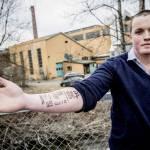 Norvegia, si tatua lo scontrino del McDonald's sul braccio04