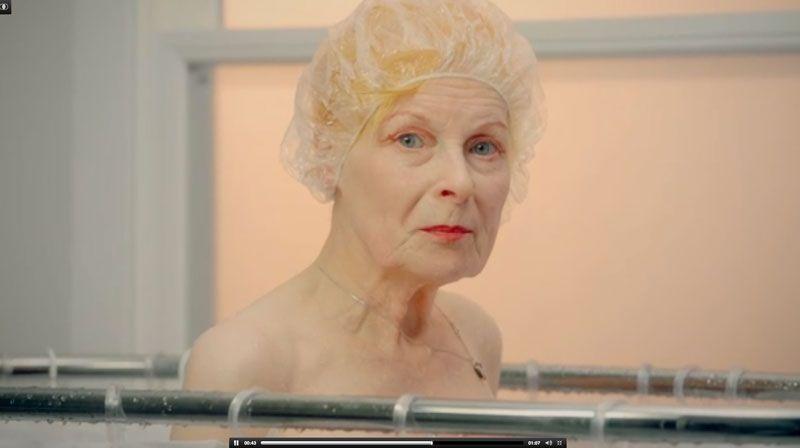 Vivienne Westwood, spot per la Peta02