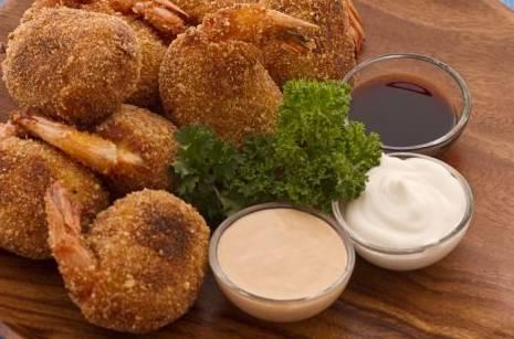 Finger food: crocchette di gamberi e ceci