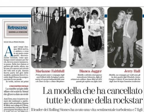 Mick Jagger, gli amori: da Marianne Faithfull alla suicida L'Wren Scott