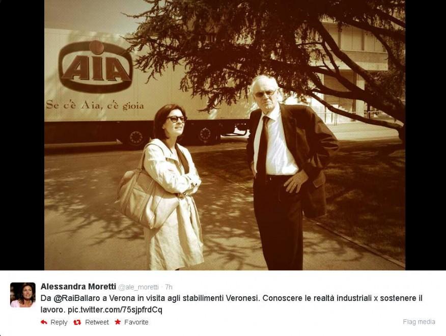 Alessandra Moretti, capolista del Pd racconta campagna elettorale su Twitter05