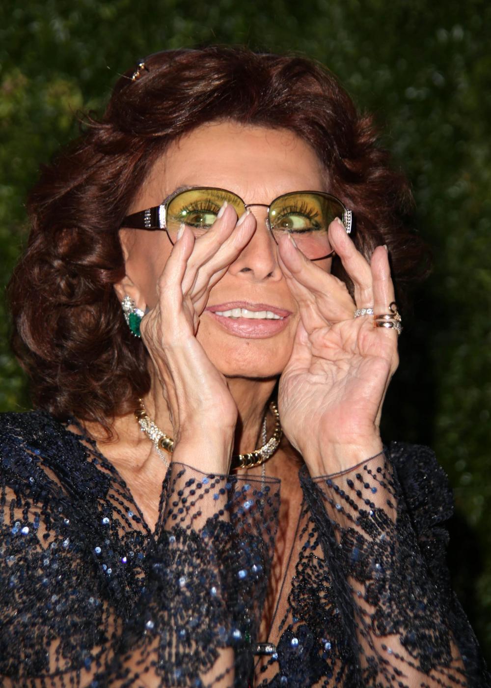 Sofia Loren madrina dell'Italia al Tribeca Film Festival06