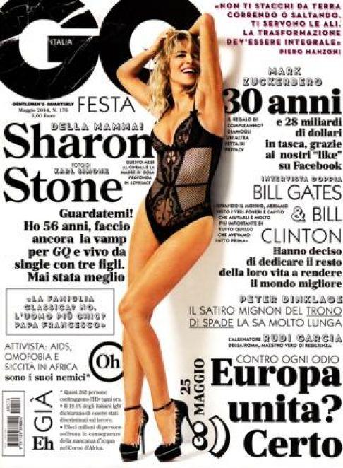 Sharon Stone sexy a 56 anni su GQ Italia02