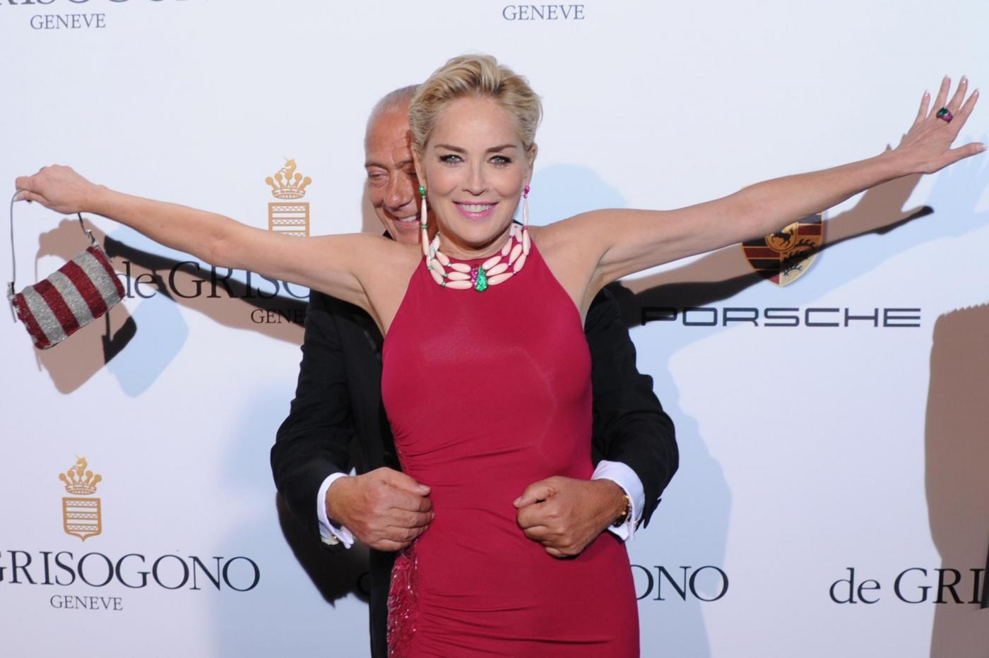 Cannes, party DeGrisogono la regina è Sharon Stone10