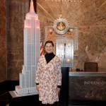 Isabella Rossellini accende l'Empire State Building contro l'aids01