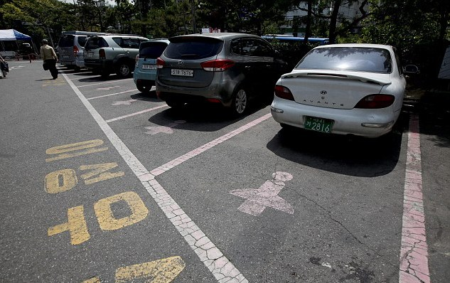 Seul, parcheggi rosa riservati alle donne 0