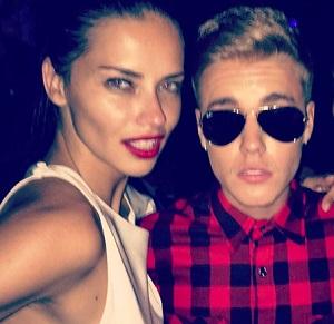 "Justin Bieber e Adriana Lima, ""notte di passione a Cannes"""