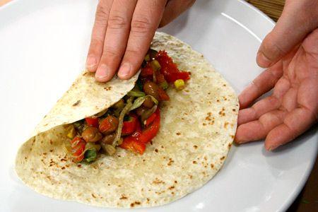Ricette messicane burritos di verdure ladyblitz for Ricette messicane