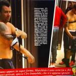 """Il """"pacco"""" dei giocatori della Nazionale nella sauna (foto)"""
