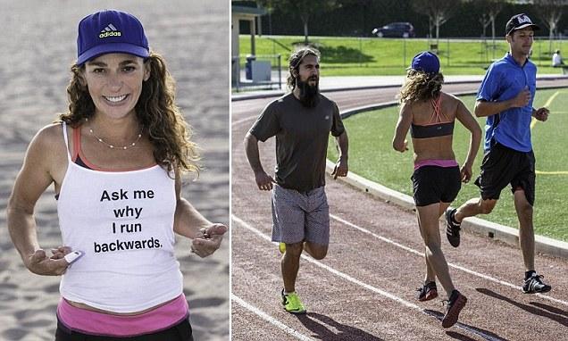 Laura, la runner italoamericana che si è curata correndo all'indietro