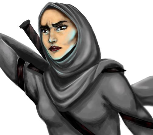 Qahera: l'eroina velata protagonista di un fumetto egiziano