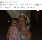 Radamel Falcao: in spiaggia a Miami con la moglie e la figlia (foto)