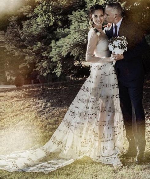 Eros Ramazzotti e Marica Pellegrini festeggiano le nozze (foto)