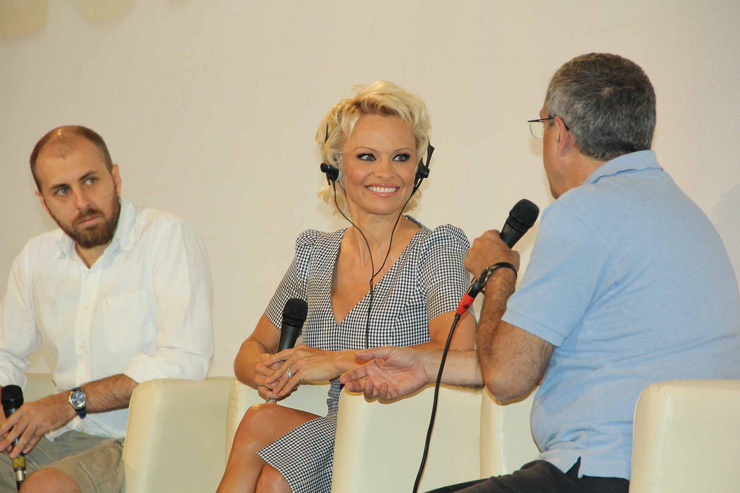 Pamela Anderson al Taormina Film Festival02