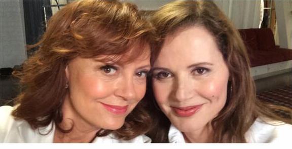 Thelma & Louise, il selfie 23 anni di Susan Sarandon e Geena Davis04