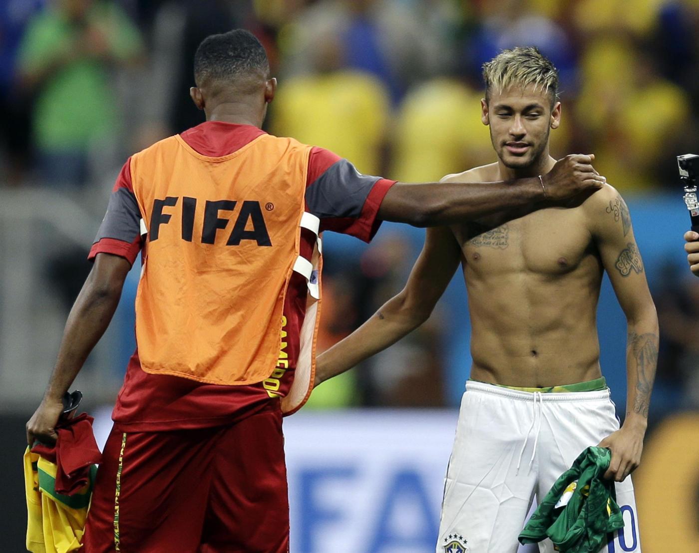 """""""Mondiali 2014: i campioni a petto nudo"""""""