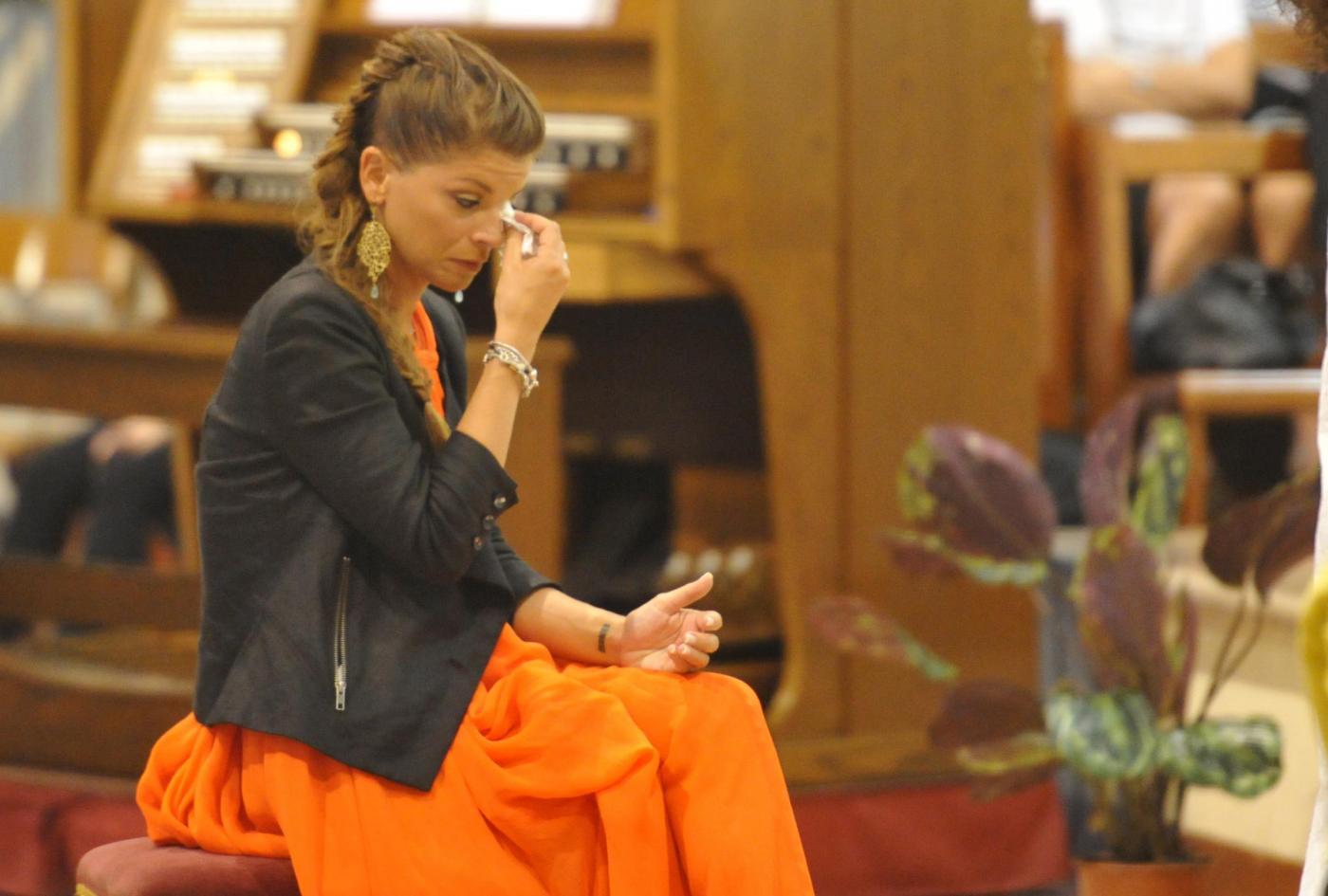 Alessandra Amoroso piange al matrimonio della sorella Francesca23