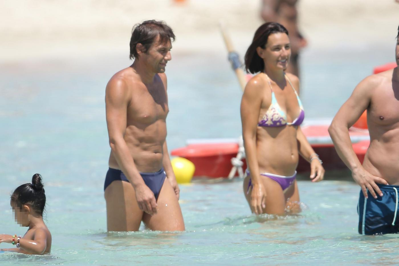 Antonio Conte e la moglie Elisabetta Muscarello03