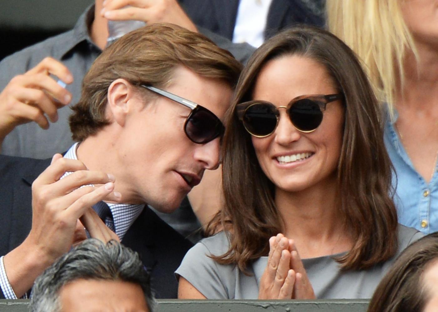 Wimbledon: Kate e William, Pippa Middleton e la madre, David e Victoria Beckham10