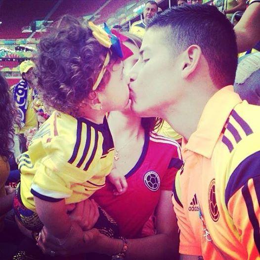 James Rodríguez: ecco la moglie del giocatore rivelazione del Mondiale (foto)