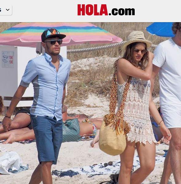 Neymar, in vacanza a Ibiza con Bruna Marquezine. Questa la sua medicina