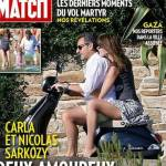 Nicolas Sarkozy e Carla Bruni in motorino senza casco: polemiche in Francia