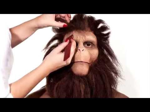 a uomo a scimmia: il make-up del deisigner Van Tassel