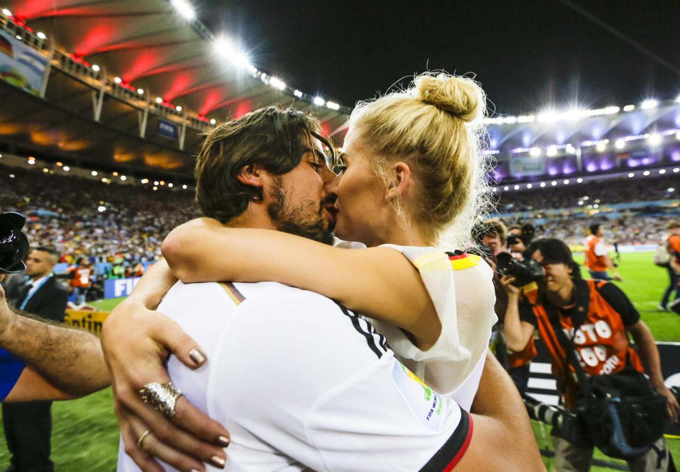 Mondiali 2014: le mogli dei calciatori tedeschi festeggiano la vittoria (foto)