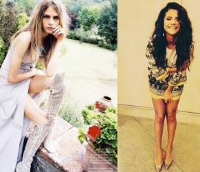 Cara Delevingne, Selena Gomez... guida spirituale? Mai senza