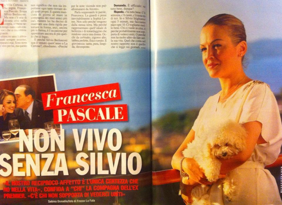 "Francesca Pascale: ""Non vivo senza Silvio"" (foto)"