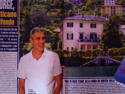 George Clooney e i divieti a Laglio per la sua privacy: è polemica