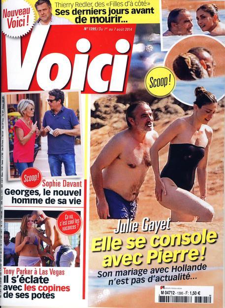 Julie Gayet, addio Francois Hollande. Si consola con Pierre Puybasset (foto)