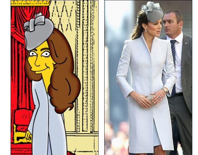Kate Middleton diventa un personaggio dei Simpsons (foto)