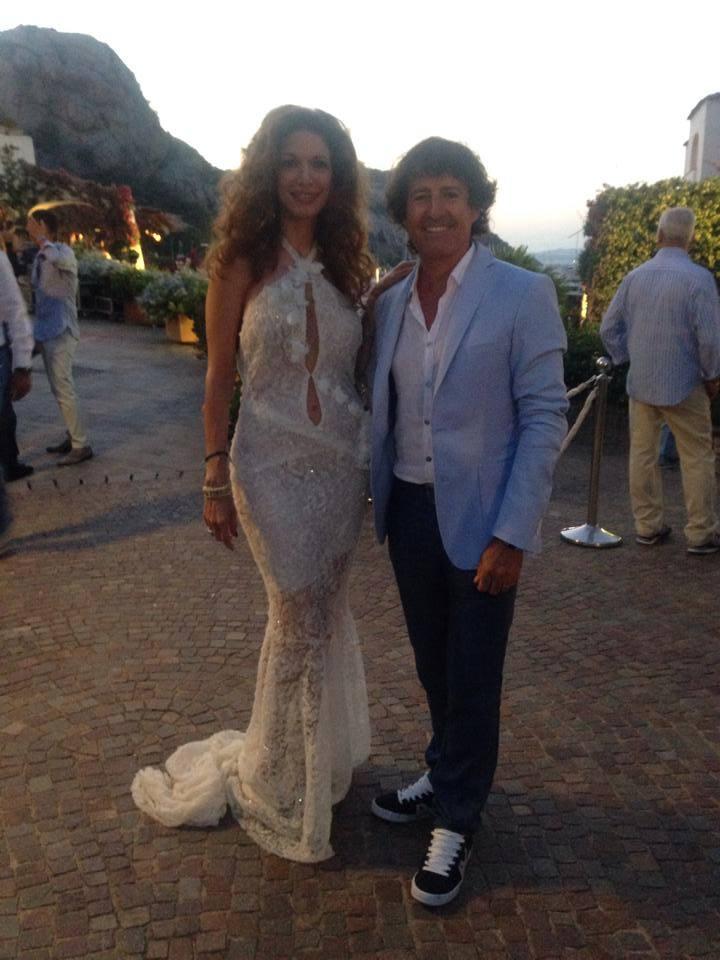 Valeria Marini e Maria Monsè versione stiliste in Costa Smeralda (foto)