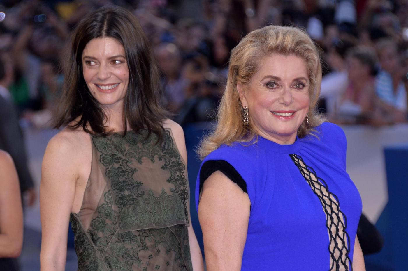 "Venezia71: Catherine Deneuve, ritorno da protagonista nel film ""3 Coeurs"" (foto)"