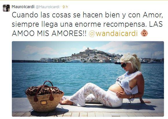 Wanda Nara - Mauro Icardi, bébé in arrivo. L'annuncio su Twitter (foto)