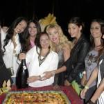 Valeria Marini e Carolina Marconi con la festeggiata.15