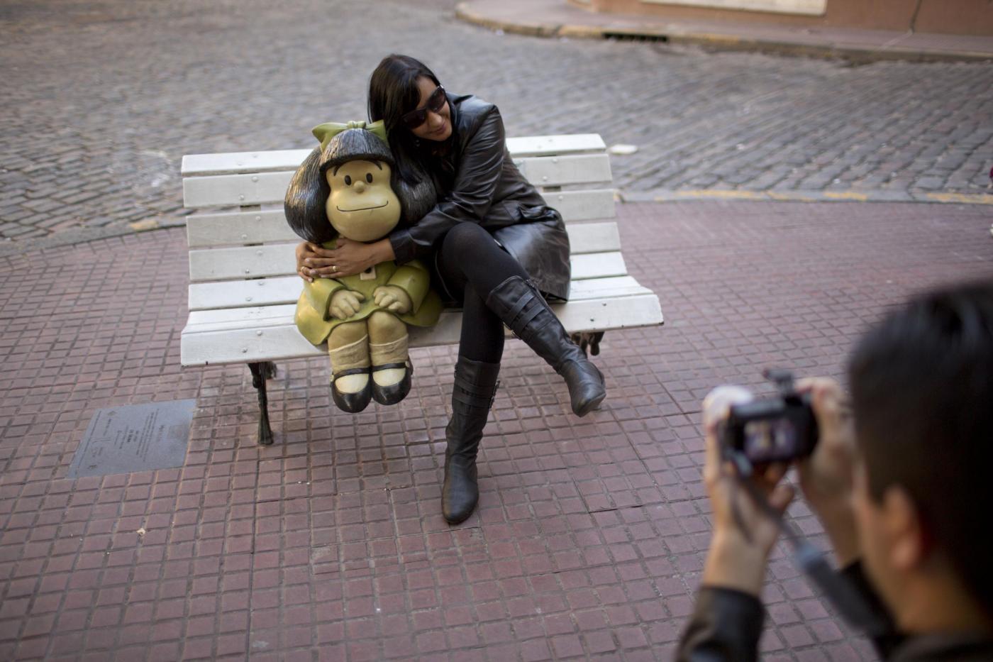 Mafalda compie 50 anni: mostra a lei dedicata a Buenos Aires06