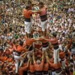 Barcellona la sfida delle torri umane 16