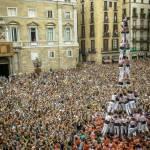 Barcellona la sfida delle torri umane 12