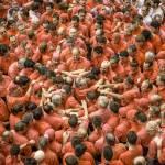 Barcellona la sfida delle torri umane 09